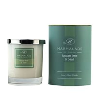 Tuscan Lime Basil Large Candle