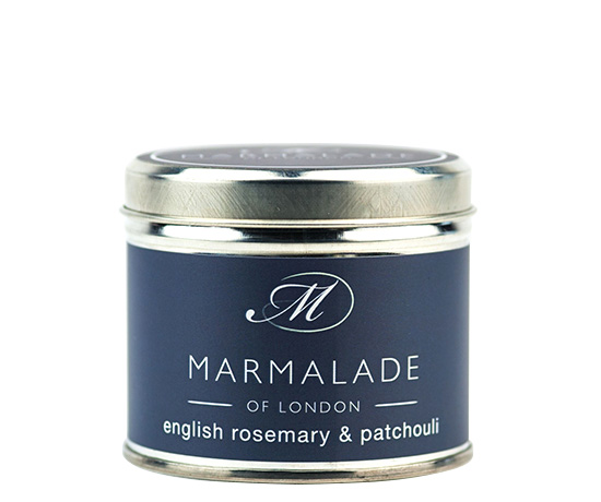 English Rosemary and Patchouli Medium Candle