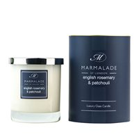 English Rosemary and Patchouli Large Candle