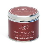 Medium tin scented candle - Grapefruit Pimento